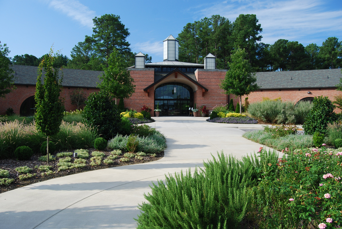 Cape Fear Botanical Garden Visitors Pavilion